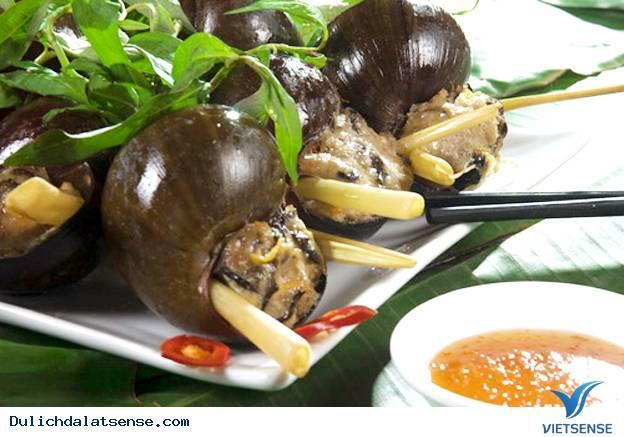 Ốc nhồi thịt món ăn hấp dẫn tại Đà Lạt
